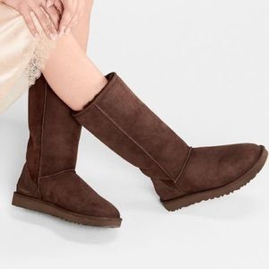 UGG Women Classic Tall Boots 5815 Chocolate-Size 7